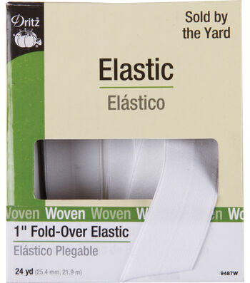 "Dritz 1"" Fold Over Elastic"