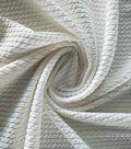 Endless Sea Pucker Knit Fabric 59\u0022-Ivory