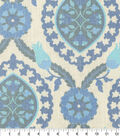 P/K Lifestyles Upholstery Fabric 54\u0022-Global Attraction Indigo