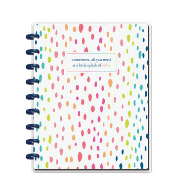 The Happy Planner Happy Notes 60-sheet Notebook-Splash of Color