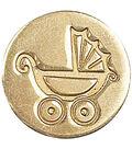 Manuscript Decorative Seal Coin-Pram (Baby Carriage)