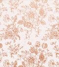 Sage & Grace Foiled Cardstock 12\u0022X12\u0022-Rose Bouquet