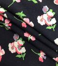 Silky Apparel Fabric-Flowers