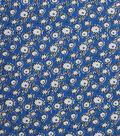 1930\u0027s Cotton Fabric 43\u0022-Mini Floral Sketch Blue
