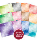 Hunkydory Crafts 8\u0027\u0027x8\u0027\u0027 Marvellous Mirri Paper Pad-Colorful Clouds