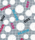 Snuggle Flannel Fabric-Spike Set Block Volleyball
