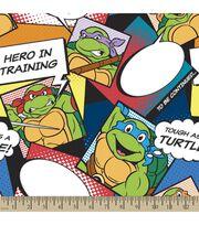 Teenage Mutant Ninja Turtles Print Fabric-Turtles Style, , hi-res