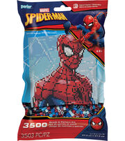 Perler Beads & Pattern Kit-Spiderman, , hi-res