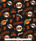 Cooperstown San Francisco Giants Cotton Fabric