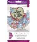 Die\u0027sire Create-A-Card Cut and Emboss Dies-Butterfly Garden