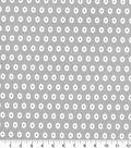 Quilter\u0027s Showcase Fabric 44\u0027\u0027-Light Gray Geometric