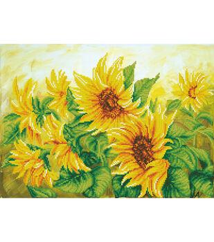 Diamond Dotz Kit-Hazy Daze Sunflowers