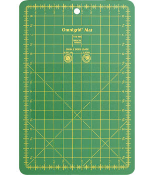 Omnigrid 5.5''x8.5'' Double-sided Cutting Mat with Grids