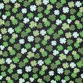 St. Patrick\u0027s Day Cotton Fabric-Patterned Shamrocks