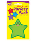 Stars Mini Accents Variety Pack, 36 Per Pack, 6 Packs