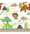 Disney PIXAR The Good Dinosaur Scenes Cotton Fabric
