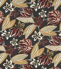 8\u0022x8\u0022 Swatch Home Decor Print Robert Allen-Bright Floral -Storm