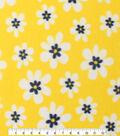 Blizzard Fleece Fabric 59\u0022-Sunny Daisies