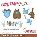 CottageCutz Die Baby Boy Clothes