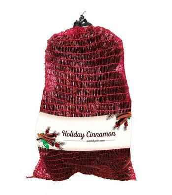 Holiday Cinnamon Scented Decorative Pine Cone Bag
