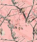 Realtree Fleece Fabric -Pink