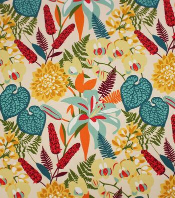 Solarium Outdoor Print Fabric 54''-Tropically Woodland
