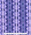 Kathy Davis Cotton Gauze Fabric 54\u0022-Purple Forest Tie Dye