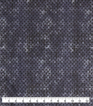 Wide Flannel Fabric-Navy Dot