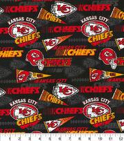 Kansas City Chiefs Cotton Fabric-Retro, , hi-res