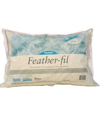 "Fairfield Feather-Fil Feather & Down Pillow 14"" x 20"""