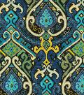 Waverly Lightweight Decor Fabric Swatch 13\u0027\u0027x13\u0027\u0027-Ancient Echo/Cove
