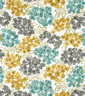 Robert Allen@Home Upholstery Fabric 54\u0022-Floral Pool