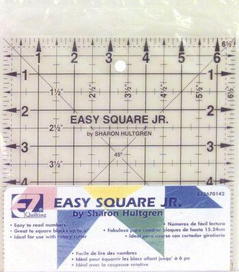"Wrights/EZ Square Jr. Ruler-6-1/2""X6-1/2"""