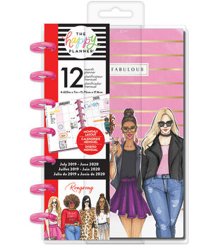 Mini Happy Planner x Rongrong Fierce & Fabulous-12 Months (2019-2020)
