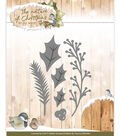 Find It Trading The Nature of Christmas Cutting Die-Christmas Floral