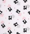 1930\u0027s Cotton Fabric 43\u0022-Sewing Machines White