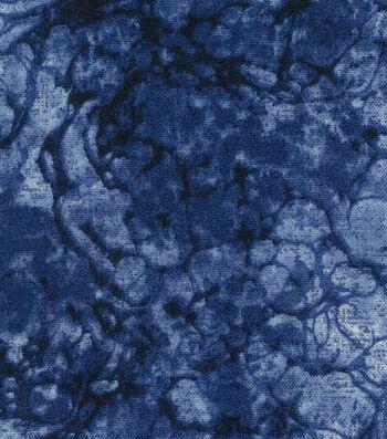 """Premium Wide Cotton Fabric 108""""-Water Drops White"""