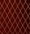 Home Decor 8\u0022x8\u0022 Fabric Swatch-Print Fabric Eaton Square Alicia Cranberry