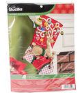 Bucilla Stocking Felt Applique Kit-Ornamental Deer