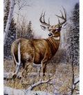 Novelty Cotton Fabric Panel 44\u0022-Standing Guard