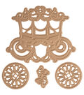 Spellbinders Die D-Lites 4 Pack Etched Dies-Carriage