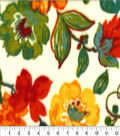Anti-Pill Fleece Fabric -Autumn Floral