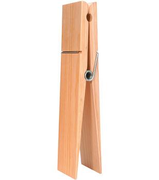 "Wood Super Jumbo Clothespin-12"""