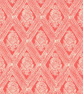 Keepsake Calico Cotton Fabric -Indashio Coral
