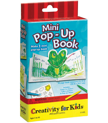 Creativity For Kids Activity Kits-Mini Pop-Up Book