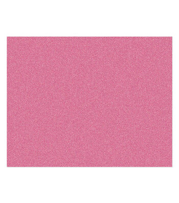 Poster Board-Pink Glitter