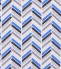 Blizzard Fleece Fabric 59\u0022-Angular Blue Gray