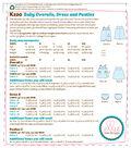Kwik Sew Pattern K0220 Infants\u0027 Overalls, Dress & Panties-Size S-XXL