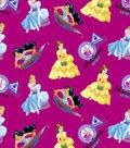 Disney Princesses Cotton Fabric -Adventurous Spirit