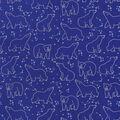Snuggle Flannel Fabric-Celestial Bear